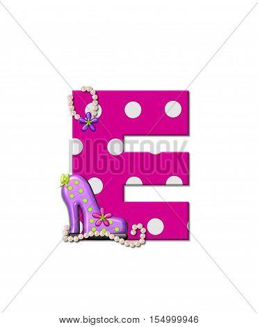 Alphabet Shoe Dive E