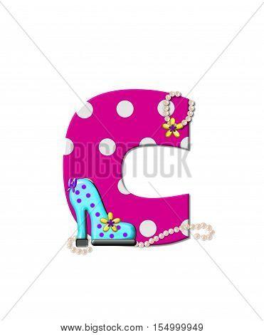 Alphabet Shoe Dive C