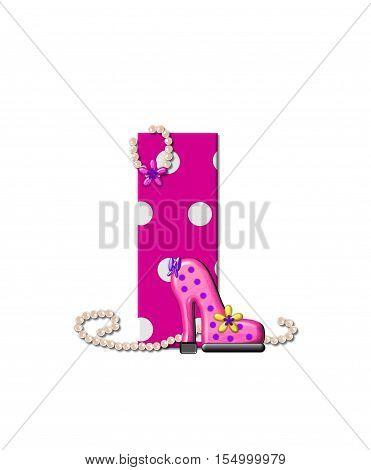 Alphabet Shoe Dive I