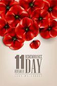 remembrance day - 11 november - lest we forget poster