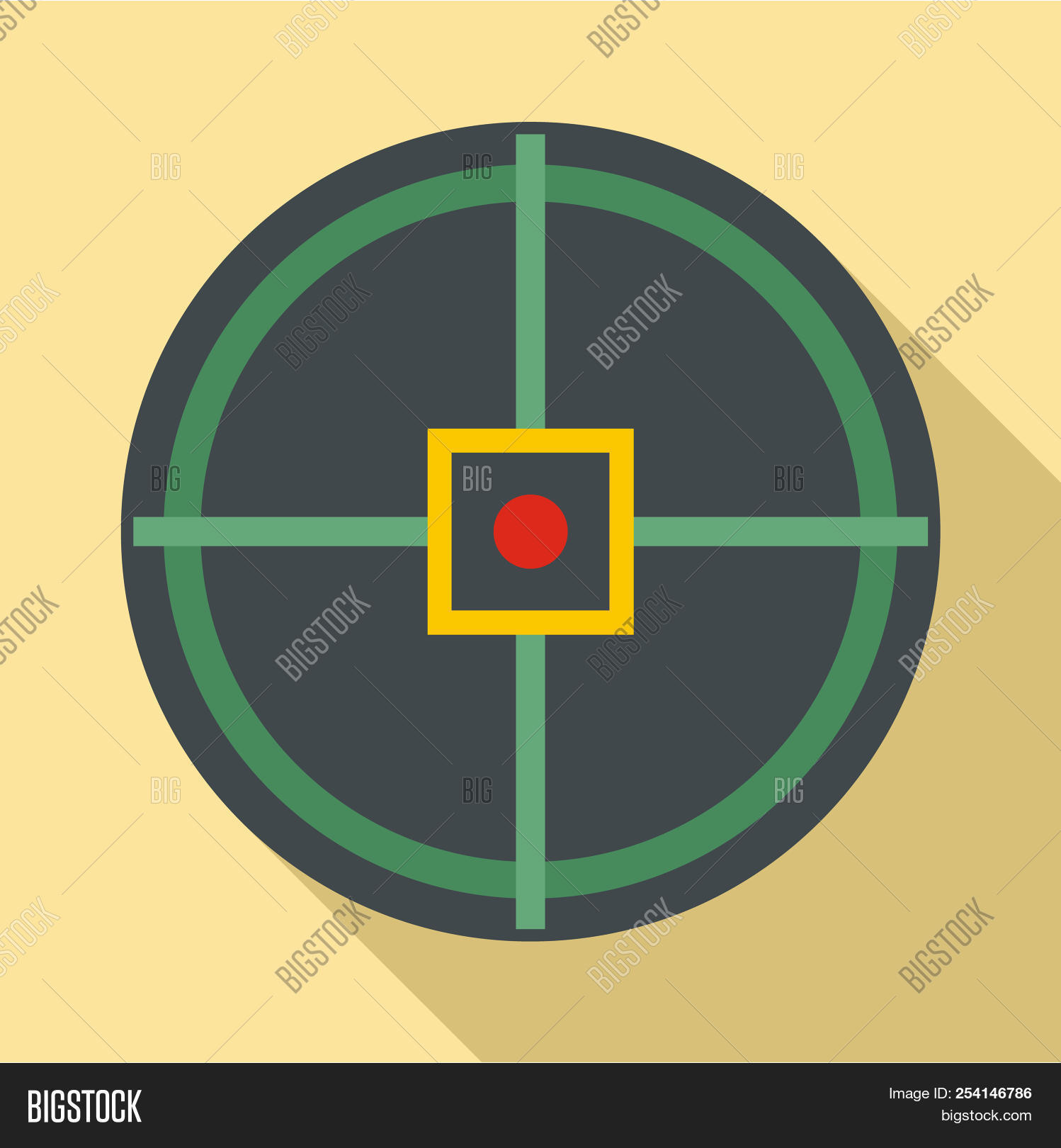 red point gun aim icon image photo free trial bigstock bigstock