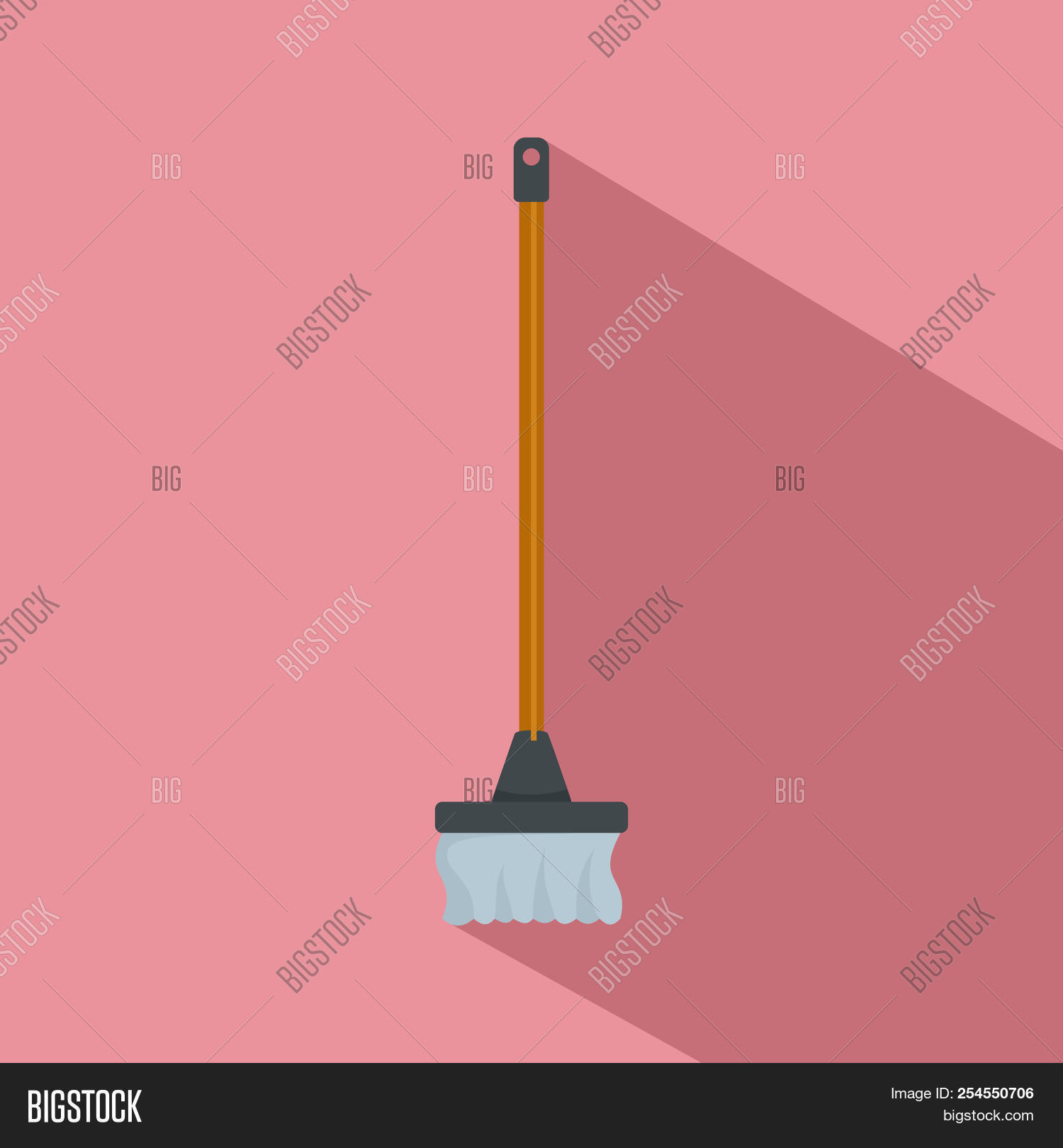Cleaning Mop Icon  Image & Photo (Free Trial) | Bigstock