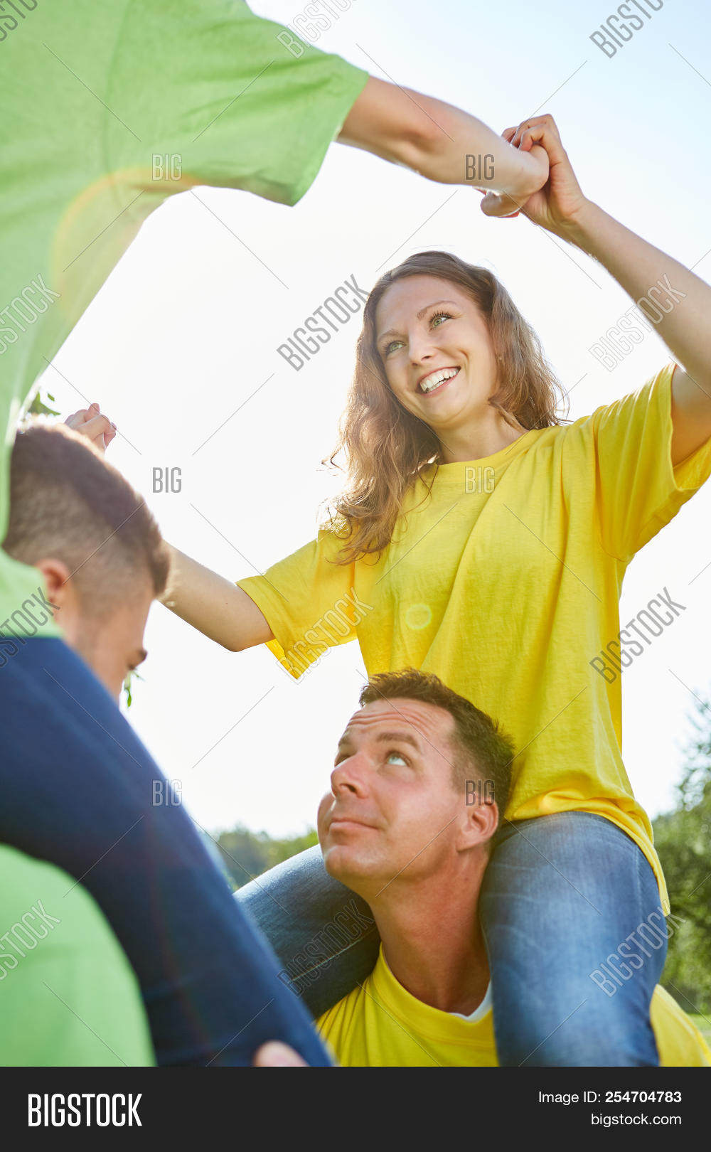 Young Cheerful Woman Image & Photo (Free Trial) | Bigstock