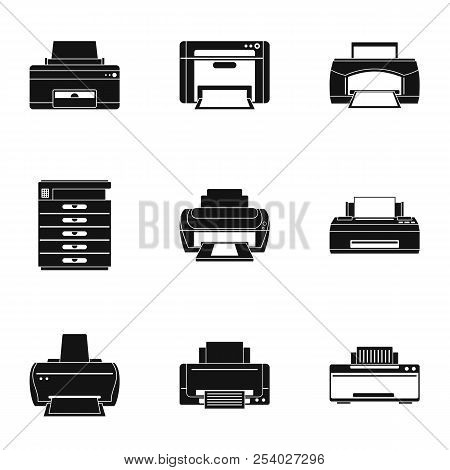 Publicism Icons Set. Simple Set Of 9 Publicism Vector Icons For Web Isolated On White Background