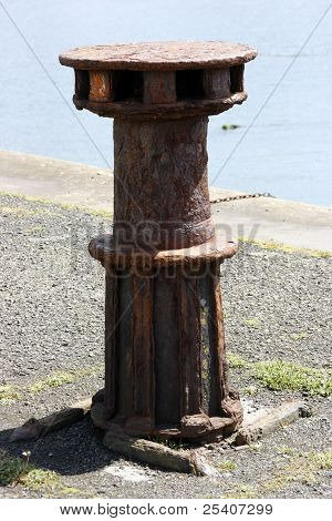 Old Rusting Capstan