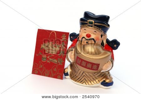 Chinese Mammon Figure For Wealth And Prosperous