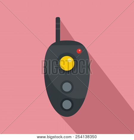 Remote Controller Icon. Flat Illustration Of Remote Controller Icon For Web Design