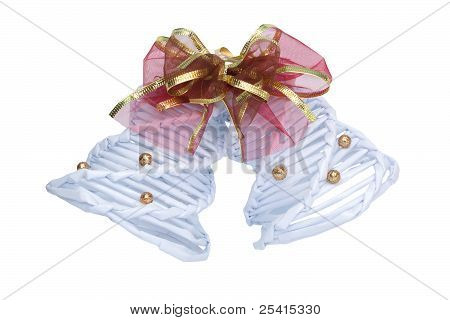 Two Bells With Ribbon