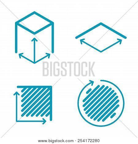 Size, Square, Area Vector & Photo (Free Trial) | Bigstock