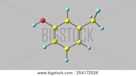 Meta-cresol Or 3-methylphenol Is An Organic Compound With The Formula Ch3c6h4oh. It Is A Colourless,