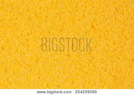 Bright Yellow Ethylene Vinyl Acetate Eva Texture.