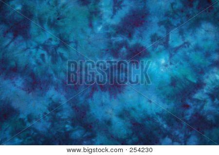 Blaue Krawatte Dye
