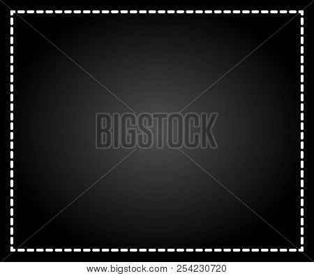 Abstract Black Blurred Gradient Background. Nature Backdrop. Concept For Design, Banner Or Poster