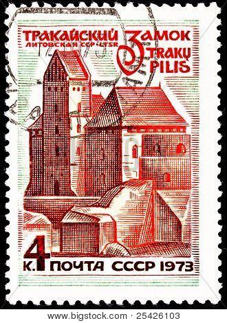 Trakai Castle, In Trakai, Lithuania