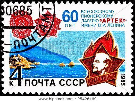 Arctic Pioneer Camp Lenin Anniversary
