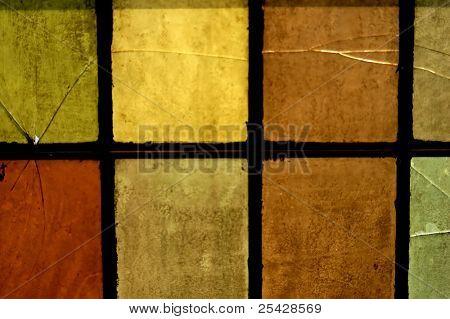 Textura abstracta de ventana iglesia colorido