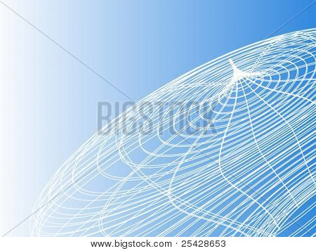 High tech wireframe background texture