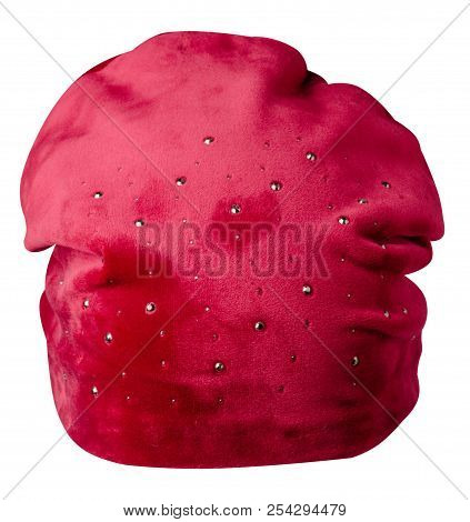 Women's Hat Isolated On White Background