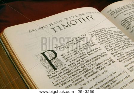 Books Of The Bible  First Timothy