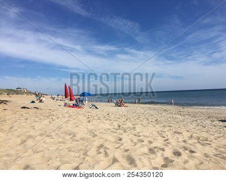 Kill Devil Hills beach, Outer Banks, North Carolina