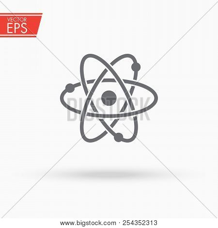 Atom Icon Chemistry Vector Photo Free Trial Bigstock