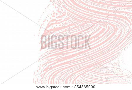 Grunge texture. Distress pink rough trace. Fascinating background. Noise dirty grunge texture. Quaint artistic surface. Vector illustration. poster