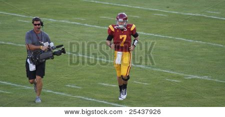USC Quarterback Matt Barkley