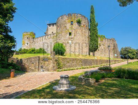 Scenic View Of Historic Castle In Gorizia, Italy