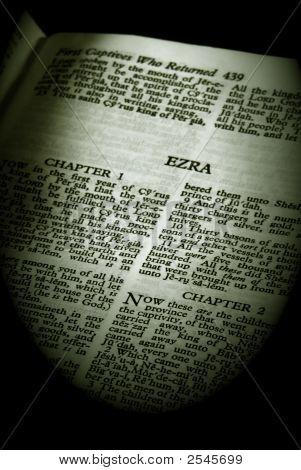 Bible Series Ezra Sepia