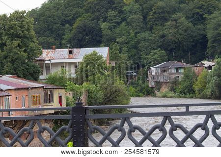Kutaisi Is Located Along Both Banks Of The Rioni River