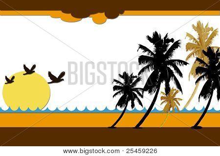 Sunrise in Tropics