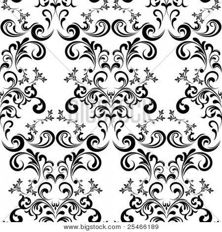 Seamless Floral Pattern. Illustration vector.