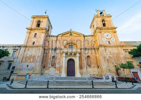 The St John's Co-cathedral In Valletta, Malta