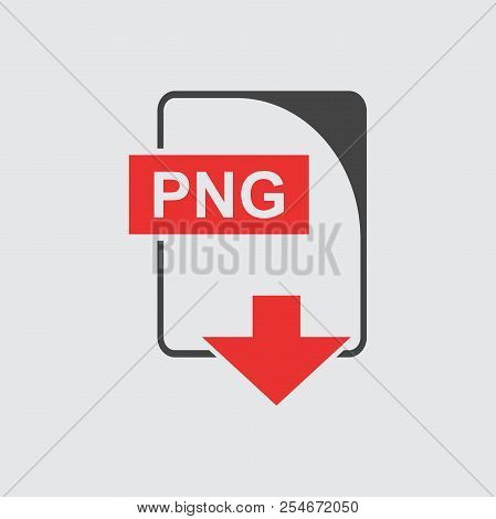 PNG Icon vector flat Business sign illustration. poster