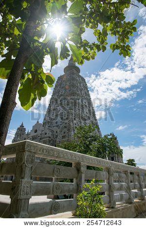 Bodh Gaya Watchongkham, Ngao District, Lampang Provice North Of Thailand