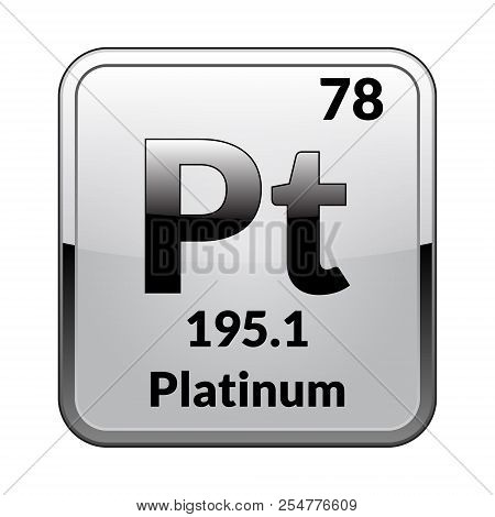 Platinum Symbol Vector Photo Free Trial Bigstock