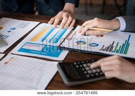 Businessman Planning, Design, Give An Advice Loans, Loan Calculators