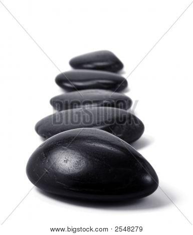 Black Pebbles