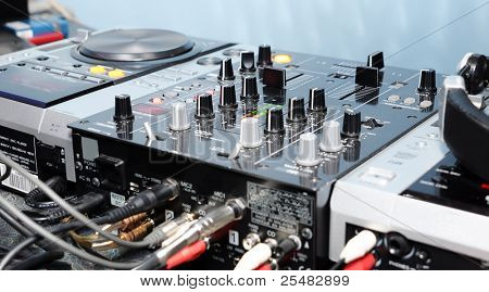 DJ panel