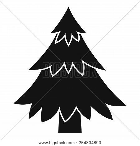 Coniferous Tree Icon. Simple Illustration Of Coniferous Tree Icon For Web