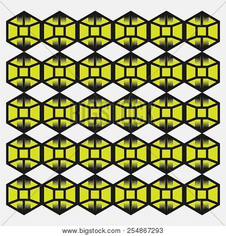 Seamless Pattern. Vector Minimalist Geometric Texture Pattern. Original Background Pattern. Simple M
