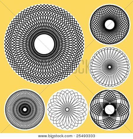 Set of spirograph