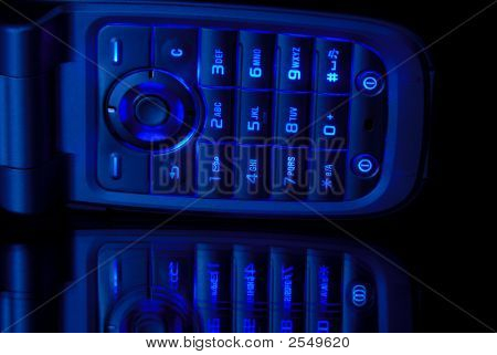 Blue Cell Phone