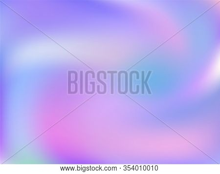 Neon Holographic Paper Fluid Gradient Backdrop. Fairy Iridescent Mermaid Background. Polar Lights Li