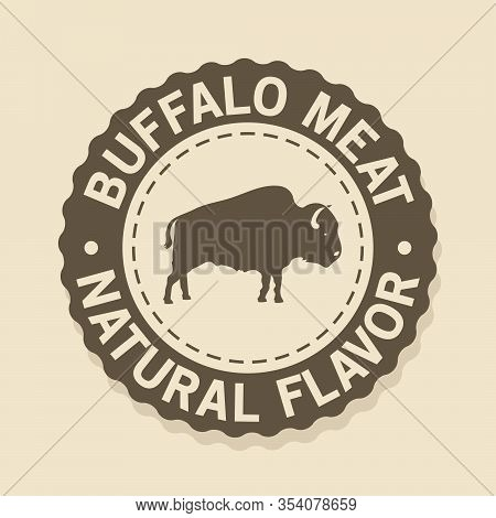 Seal Stamp Buffalo Meat, Natural Flavor Foods
