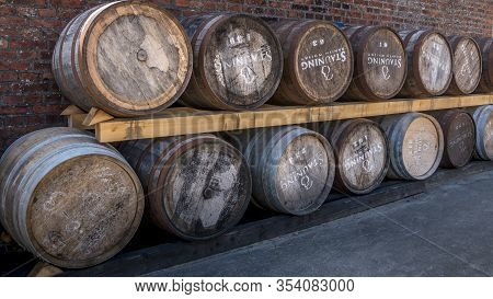 Whiskey Distillery, Making Whiskey Has Become Very Popular And Many Small Whiskey Distillations Are