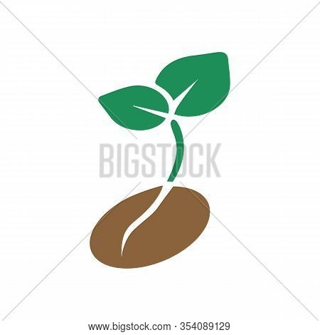 Seed Icon. High Quality Line Seed Icon On White Background. From Farming Collection Flat Trendy Vect
