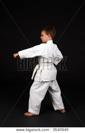 Traditonal Karate Left Stance