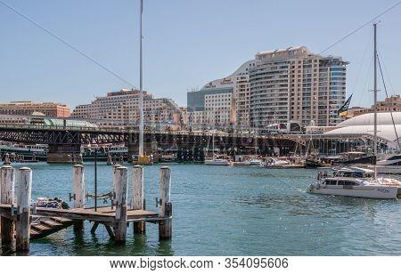 Sydney, Australia - December 11, 2009: Ibis And Mercure Hotel Buildings On Shore Of Darling Harbour