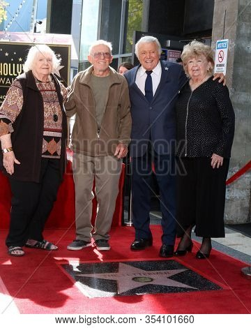 LOS ANGELES - FEB 24:  Tony Butala and siblings at the The Lettermen Star Ceremony on the Hollywood Walk of Fame on February 24, 2019 in Los Angeles, CA